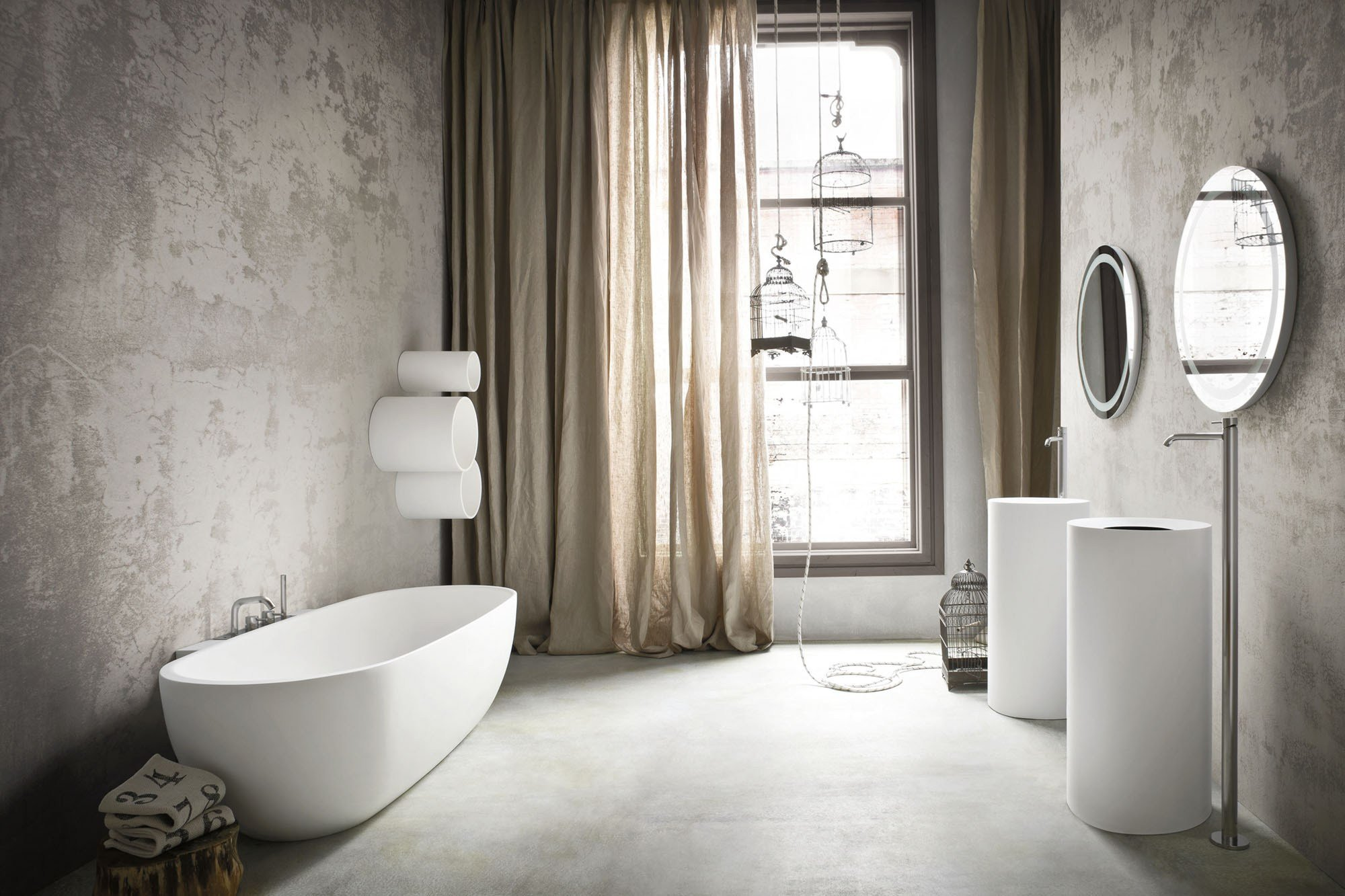 hole vasca da bagno ovale by rexa design design susanna mandelli