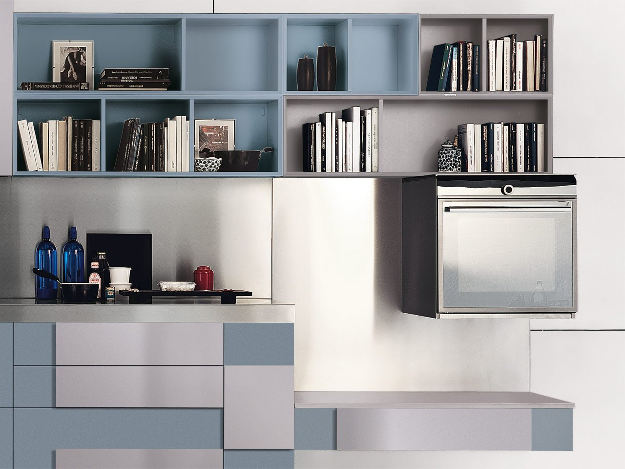 creativa lacquered kitchen by cucine lube