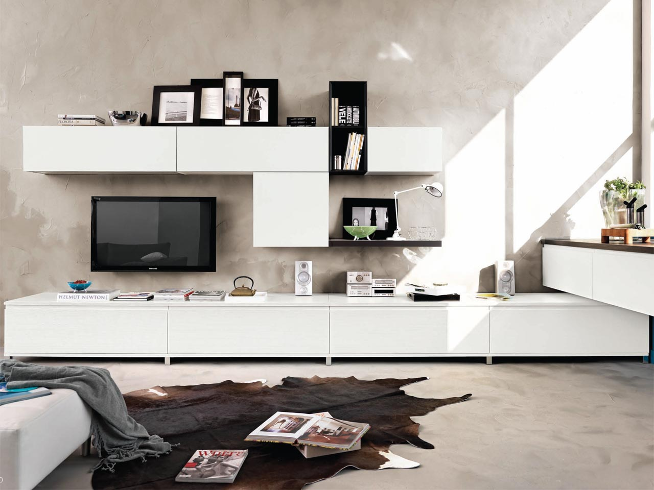 GALLERY | Ash storage wall By Cucine Lube