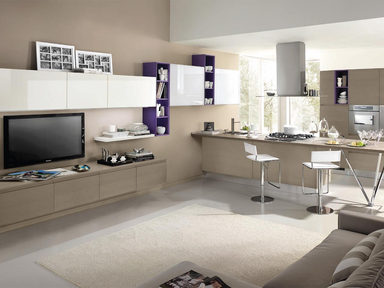 linda fitted kitchen by cucine lube