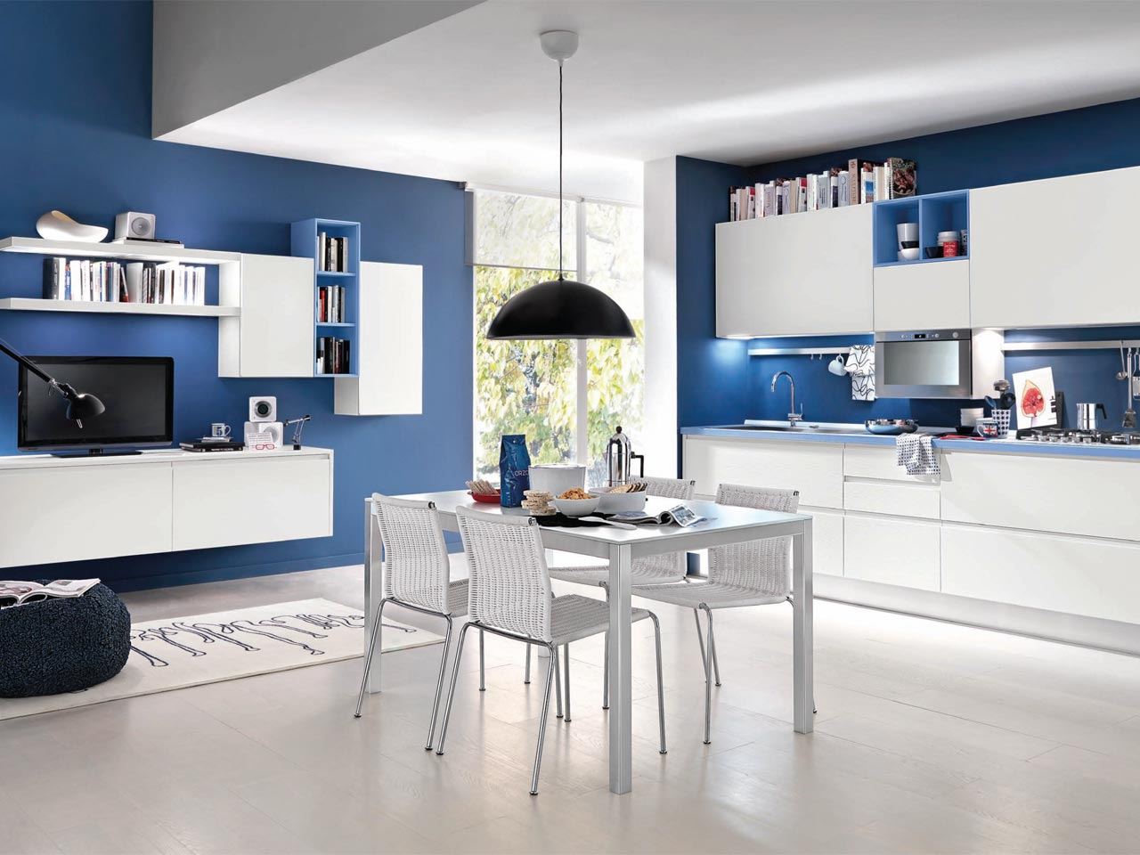 linda kitchen without handles by cucine lube