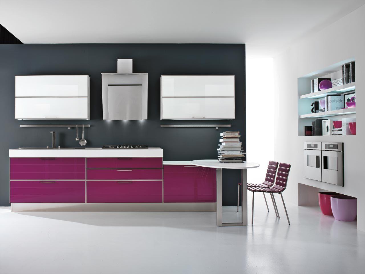 Lucy cocina en aluminio y vidrio by lube industries s r l - Cocina aluminio ...