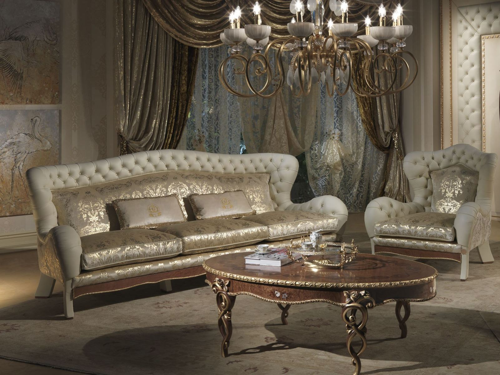 Vanity 3 Seater Sofa By Carpanelli Classic