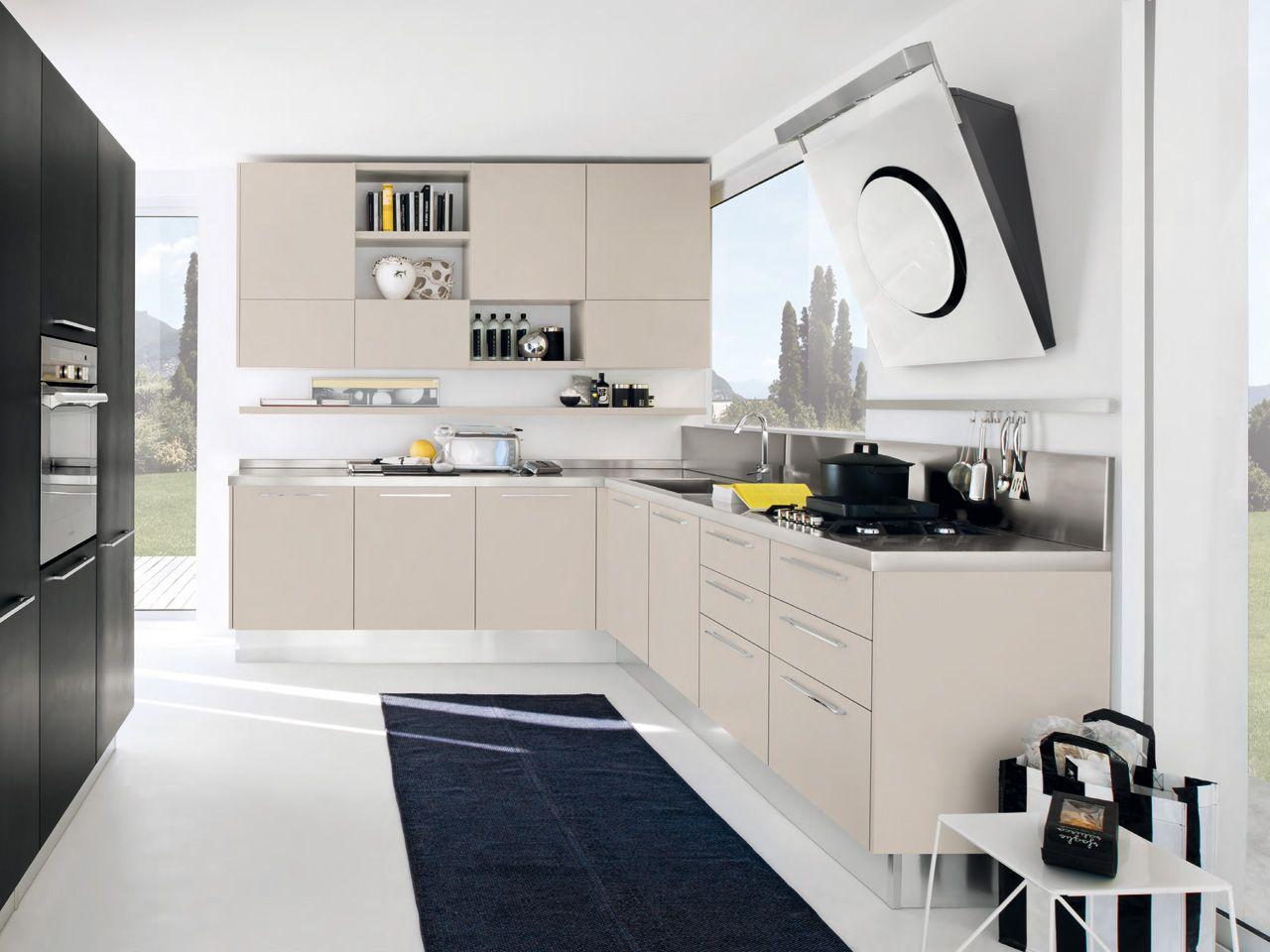 pamela cuisine suspendue by cucine lube. Black Bedroom Furniture Sets. Home Design Ideas