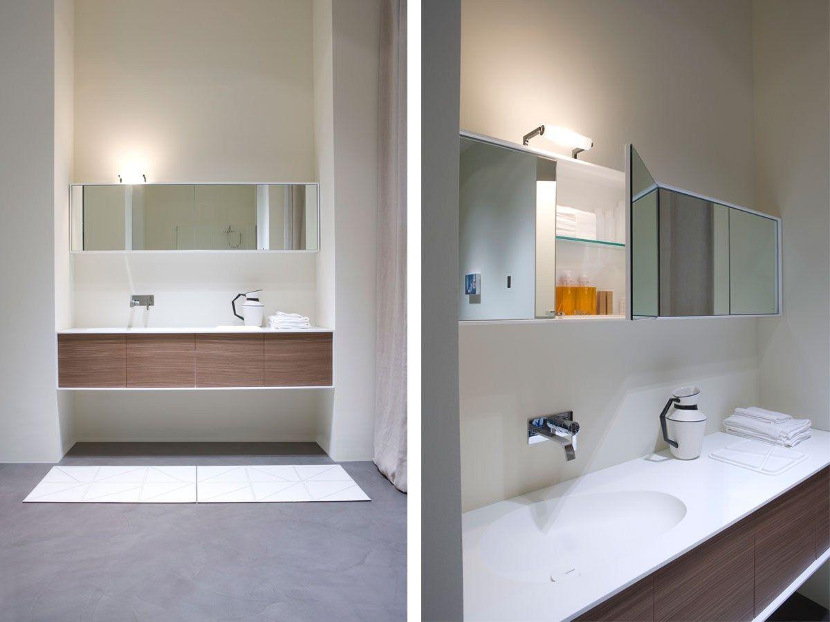 pensile con specchio teatro by antonio lupi design design al studio. Black Bedroom Furniture Sets. Home Design Ideas