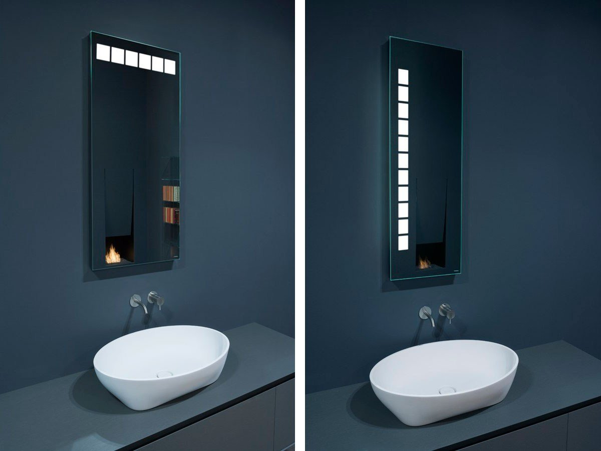 miroir avec clairage int gr pour salle de bain ciok by. Black Bedroom Furniture Sets. Home Design Ideas