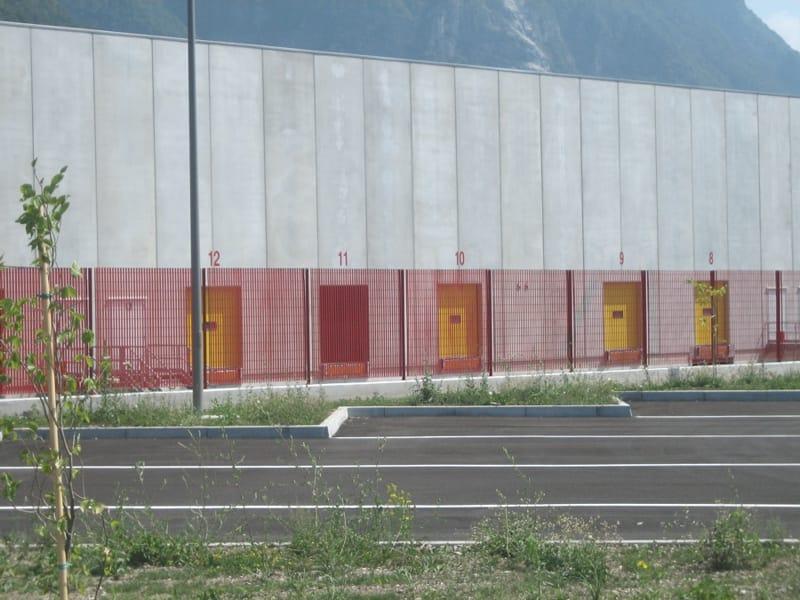 Recinzione modulare in acciaio solar by grigliati baldassar for Baldassar recinzioni