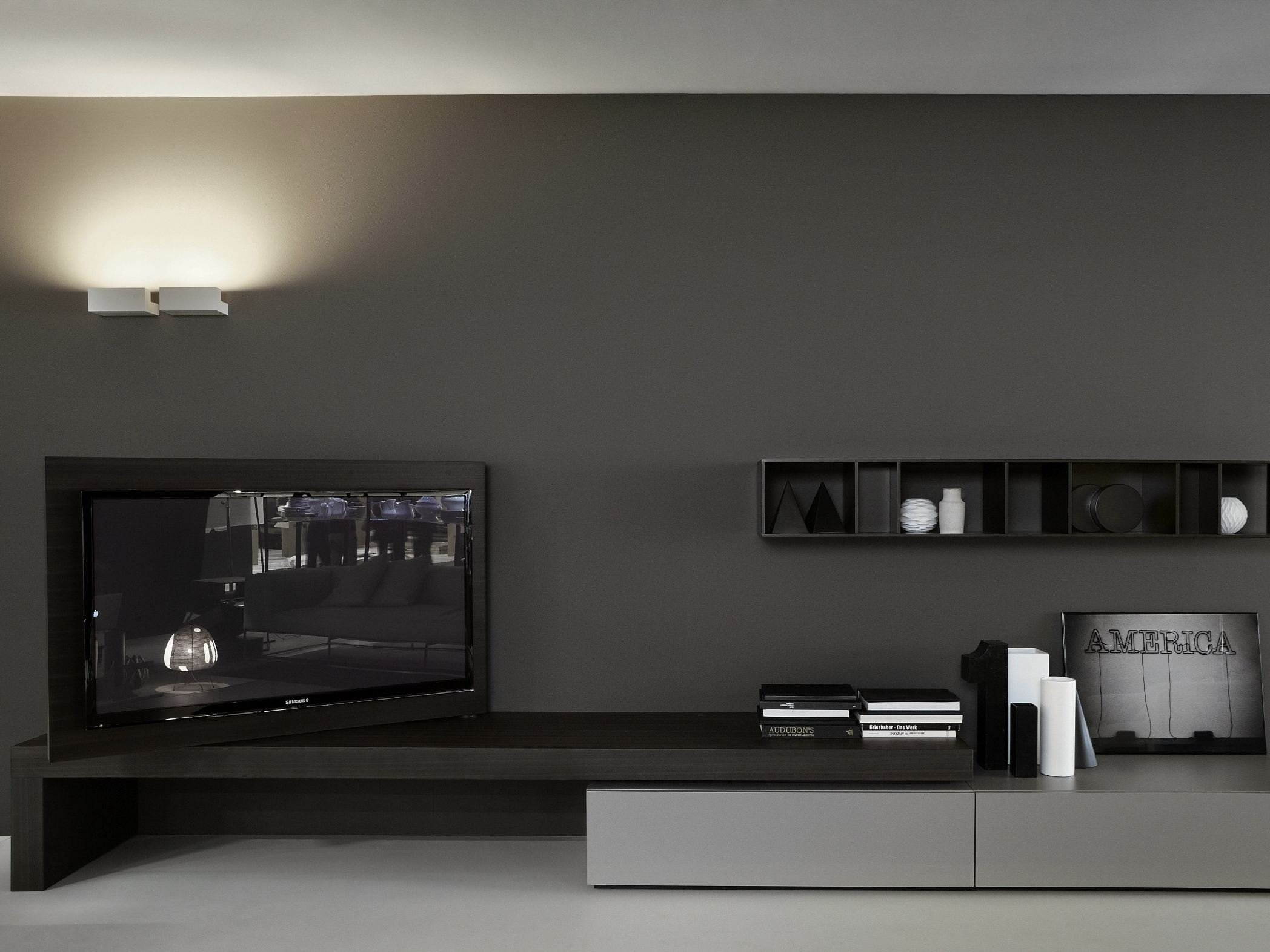 Meuble Tv Tres Moderne : Meuble Tv Bas Modern Flag By Porro Design Piero Lissoni