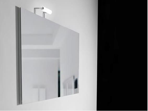 Miroir pour salle de bain rectangulaire h50 75 100 110 by for Salle de bain komodo