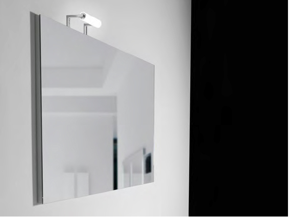 Miroir pour salle de bain rectangulaire h50 75 100 110 by for Miroir 110 50