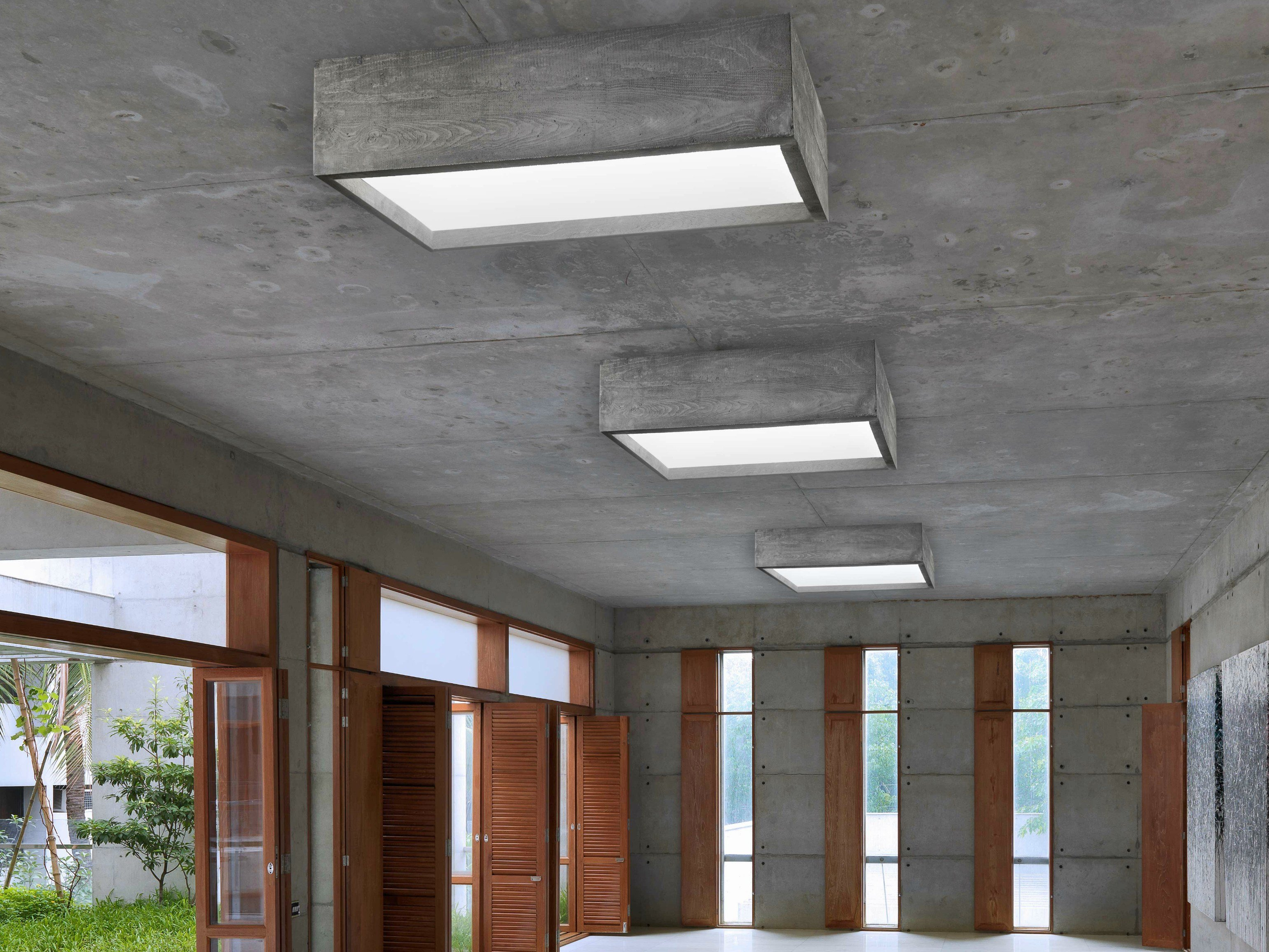 LED CEMENT CEILING LAMP CASSERO I-CEMENTI COLLECTION BY ...