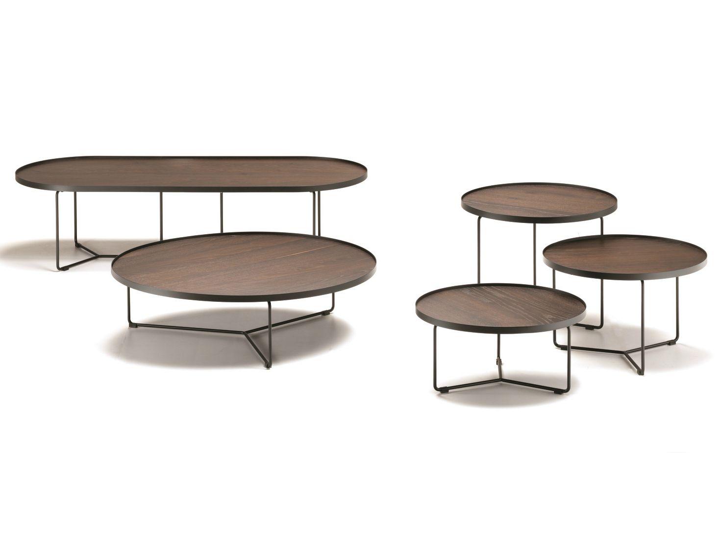 Tavolino Rotondo Legno Essenza Bim : Billy wood by cattelan italia design studio kronos