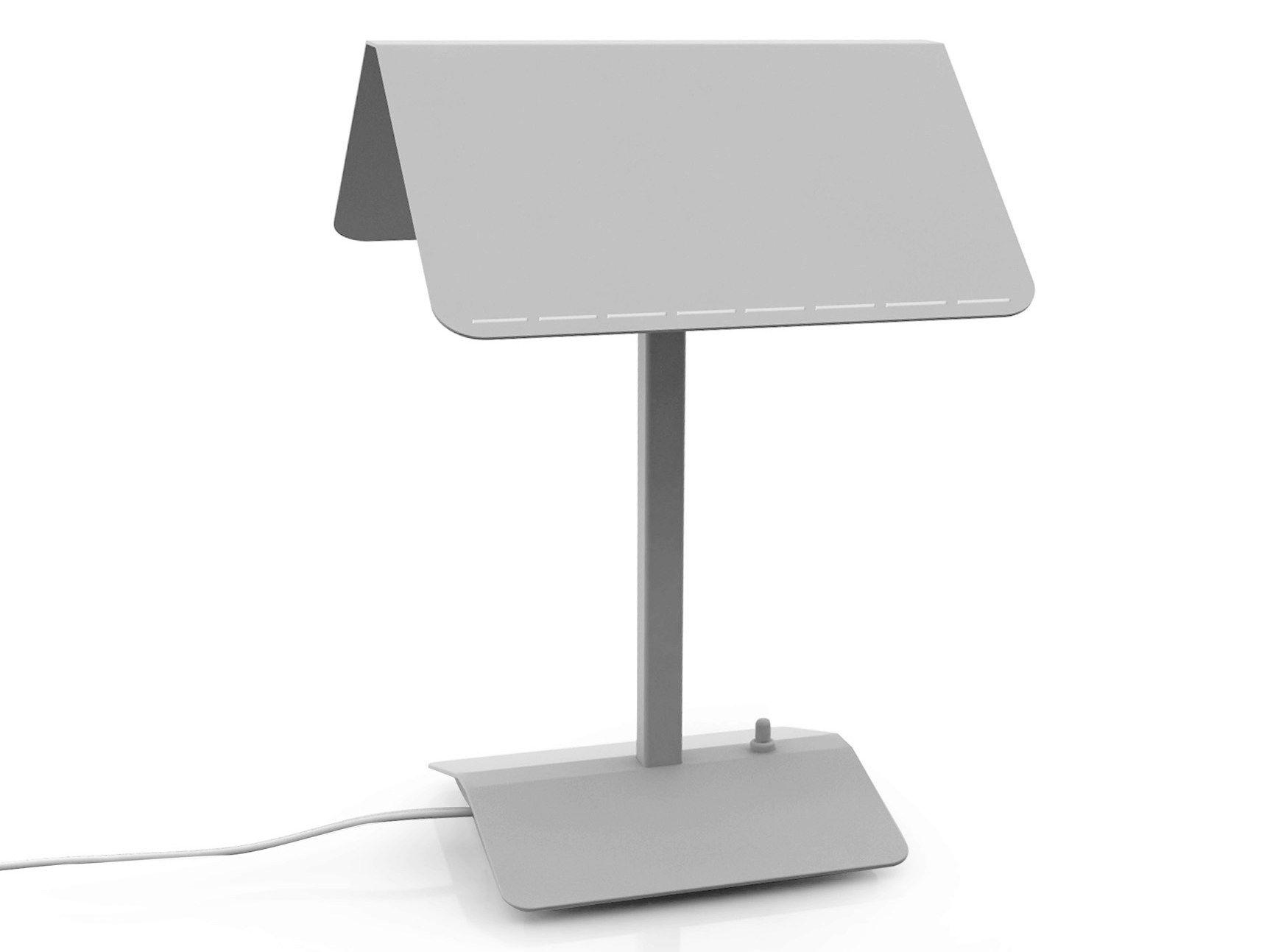 Lampada da tavolo a led in metallo segnalibro by martinelli luce design orlandini design - Lampada a led da tavolo ...