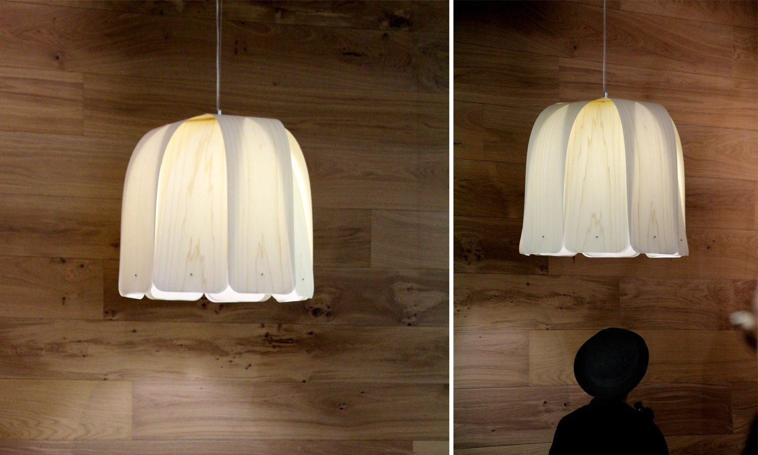 POLYWOOD® PENDANT LAMP DOMO S BY LZF