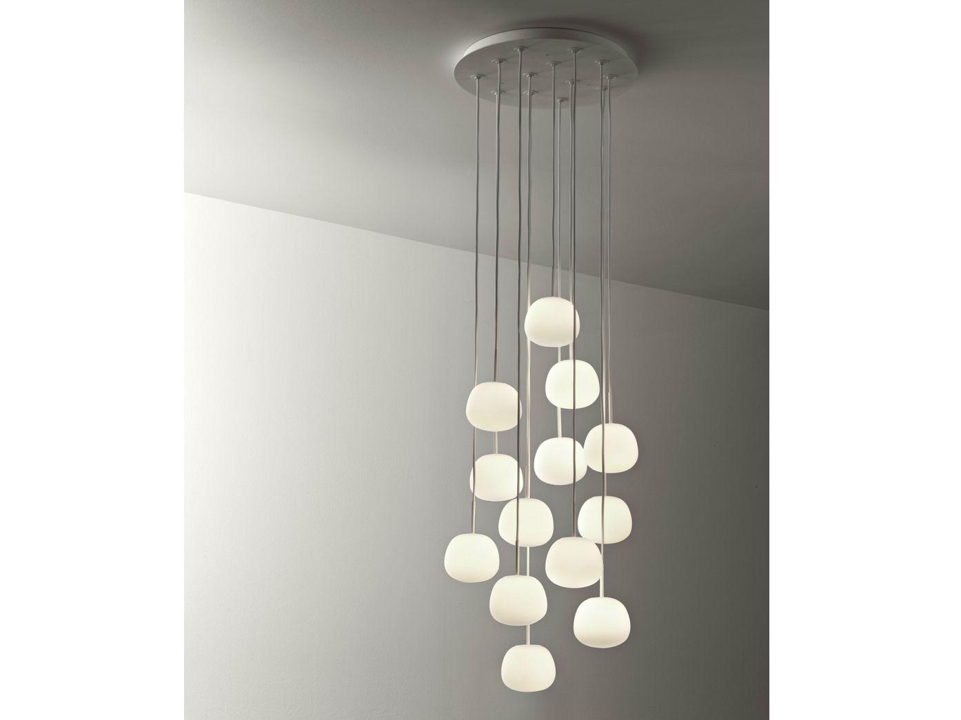 Lumi mochi lampada a sospensione by fabbian design alberto saggia ...