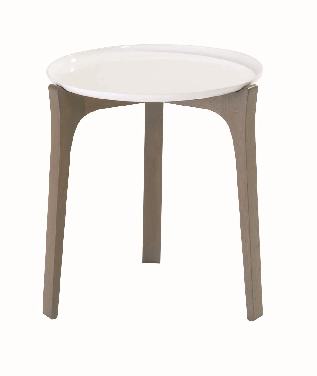Table d 39 appoint hautes ronde bow collection les - Table d appoint ronde ...