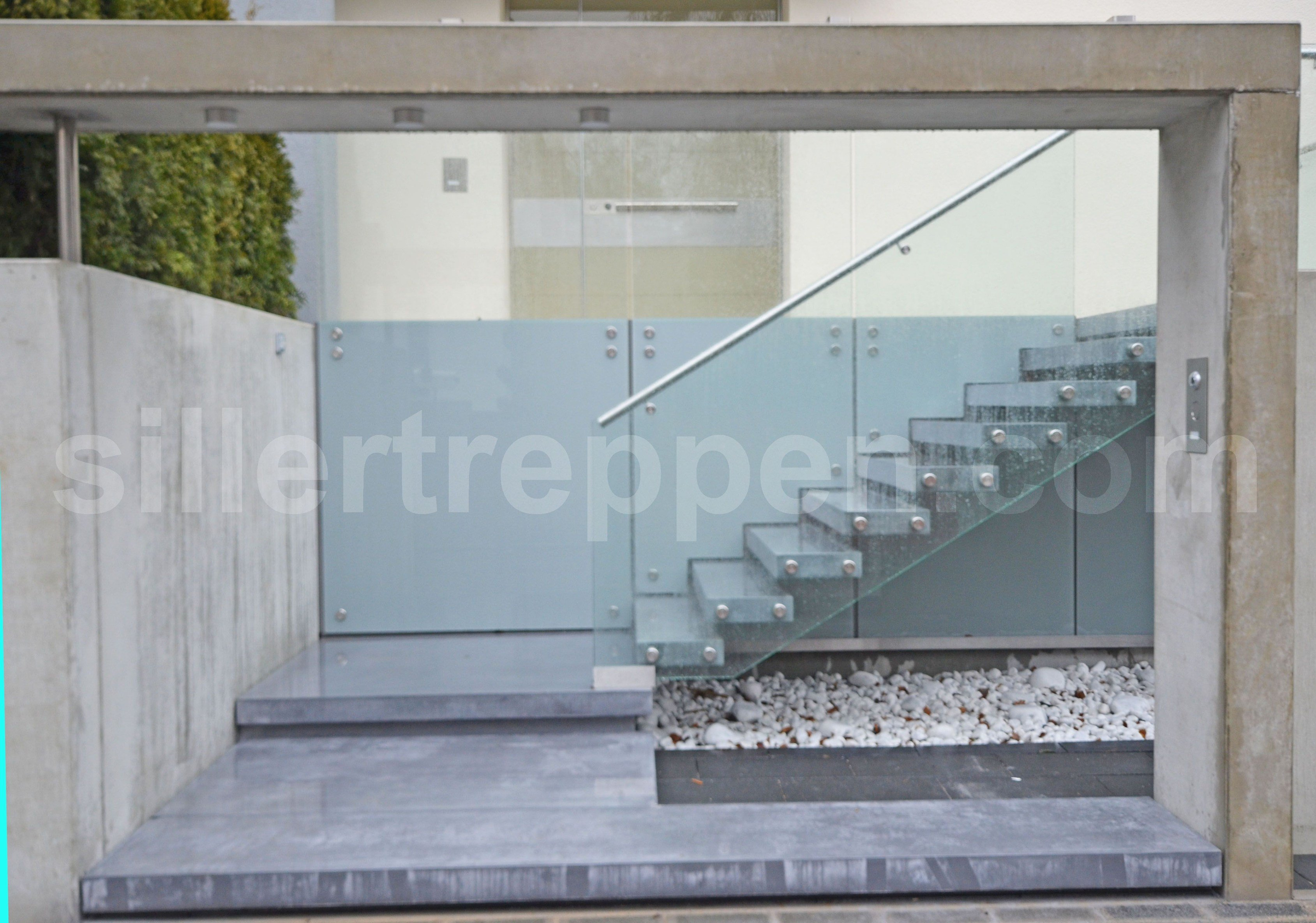 cement staircase concrete exterior stairs by siller treppen
