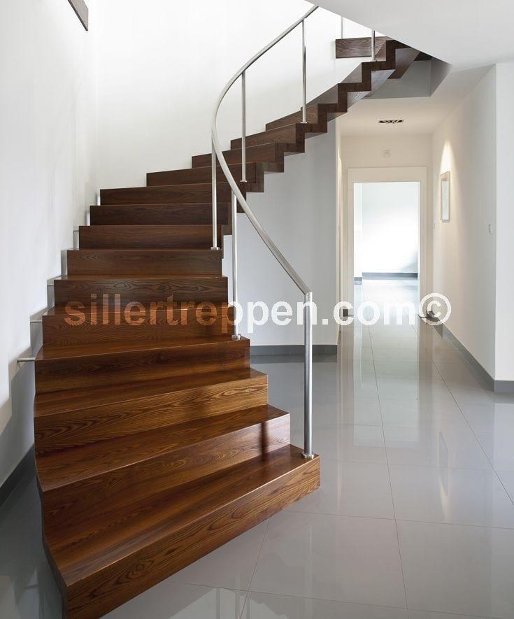 Escalera de caracol helicoidal autoportante de madera - Cerrar escalera caracol ...