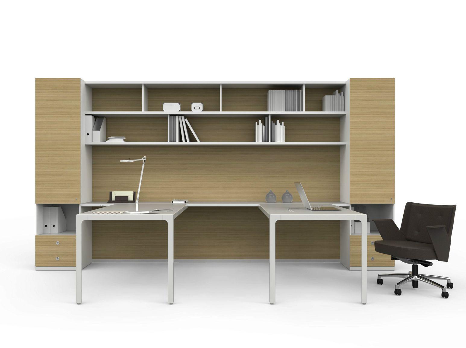 More 45 escritorio de oficina ejecutivo by estel group for Escritorio modular