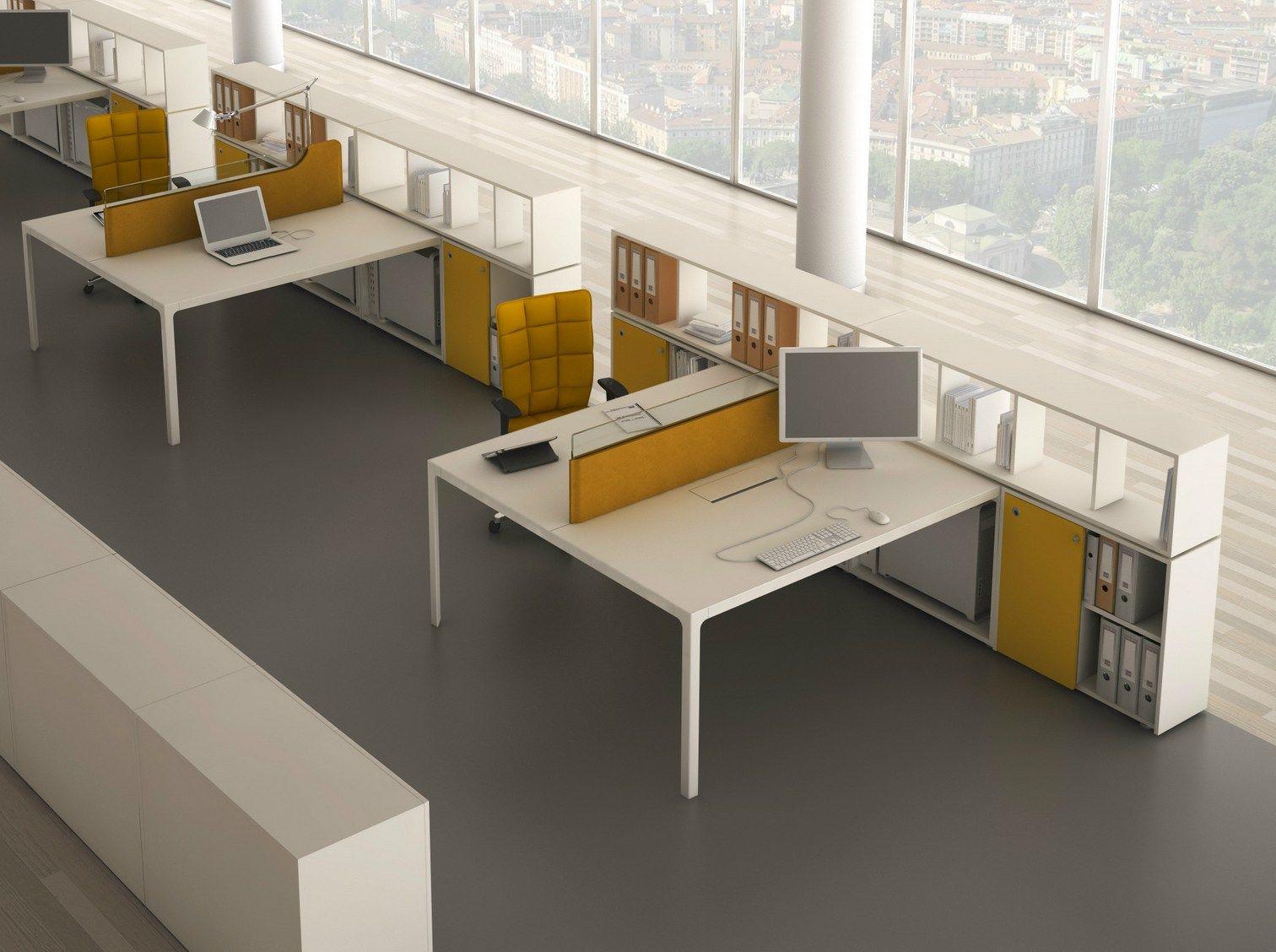 More 45 mesa de escrit rio operativa by estel group for Escritorio modular