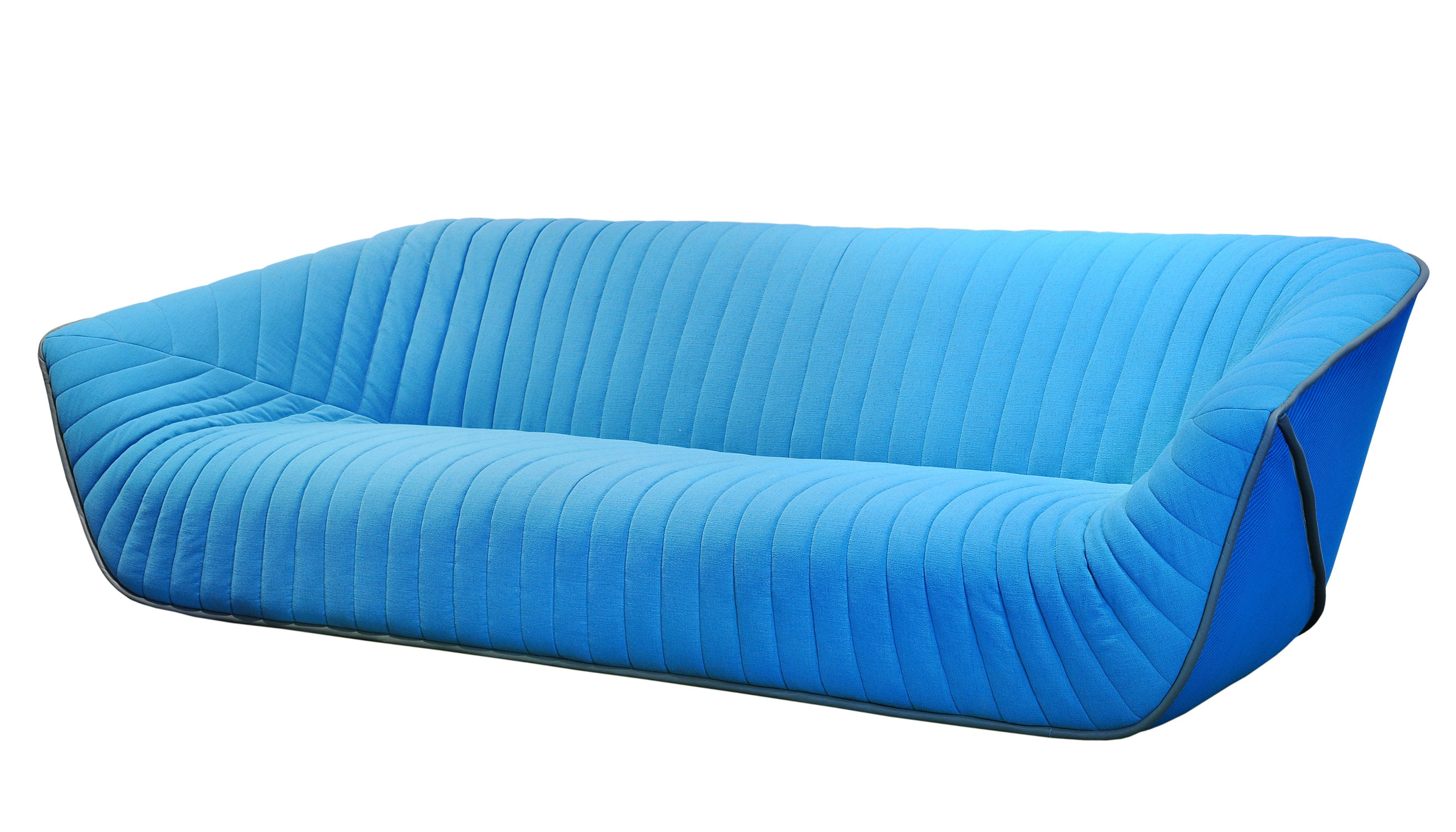 Canap 4 places en tissu nautil by roche bobois design for Canape en solde roche bobois