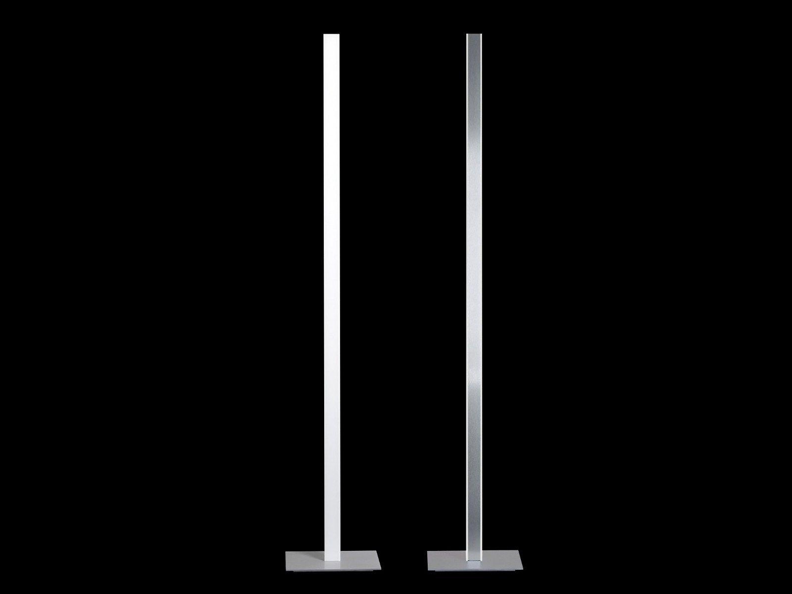 Lampada da terra a led in alluminio millelumen individual - Lampada led design ...