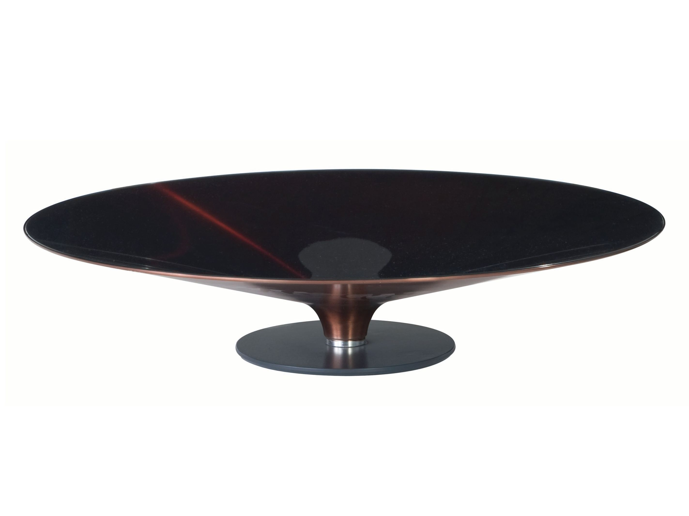 Low Round Coffee Table Ovni Roche Bobois