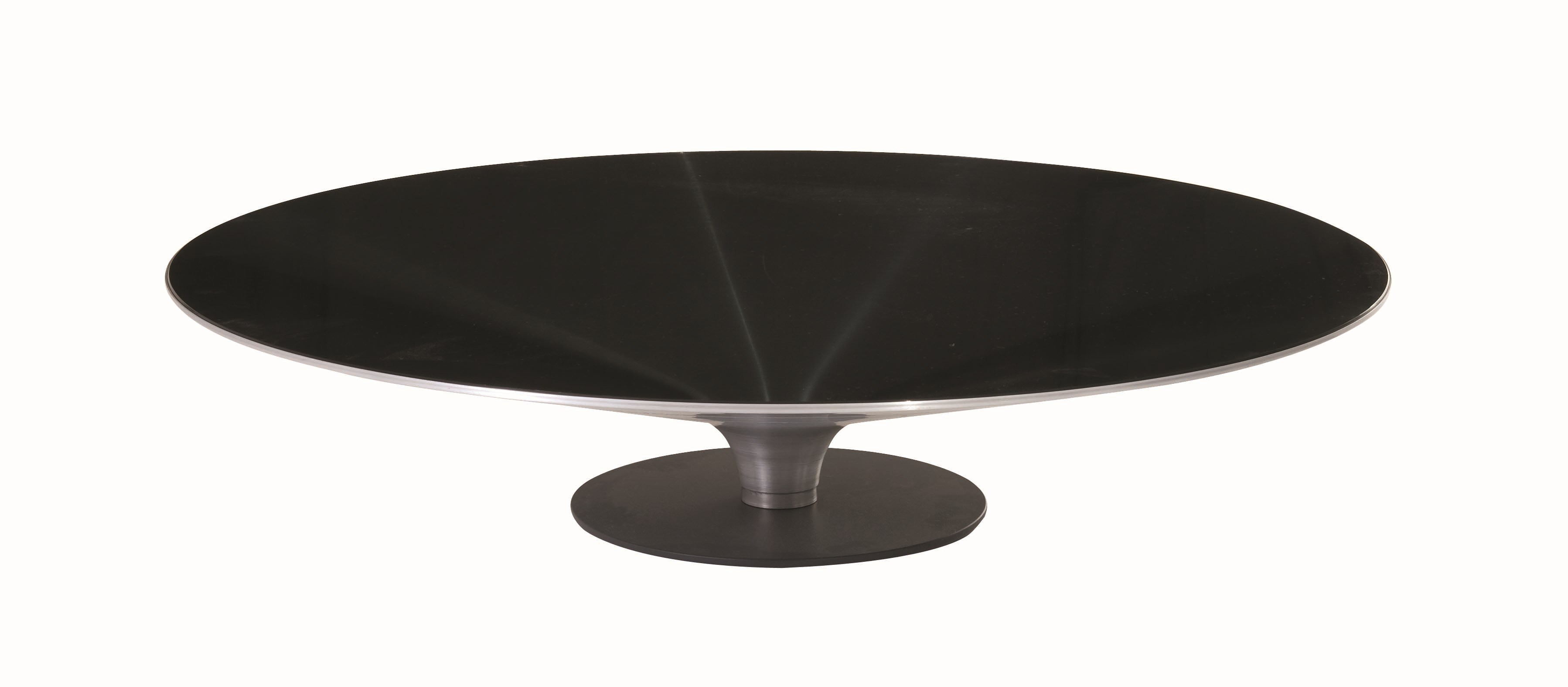 Table Basse Relevable Transformable ~   RUNDER COUCHTISCH OVNI KOLLEKTION LES CONTEMPORAINS BY ROCHE BOBOIS