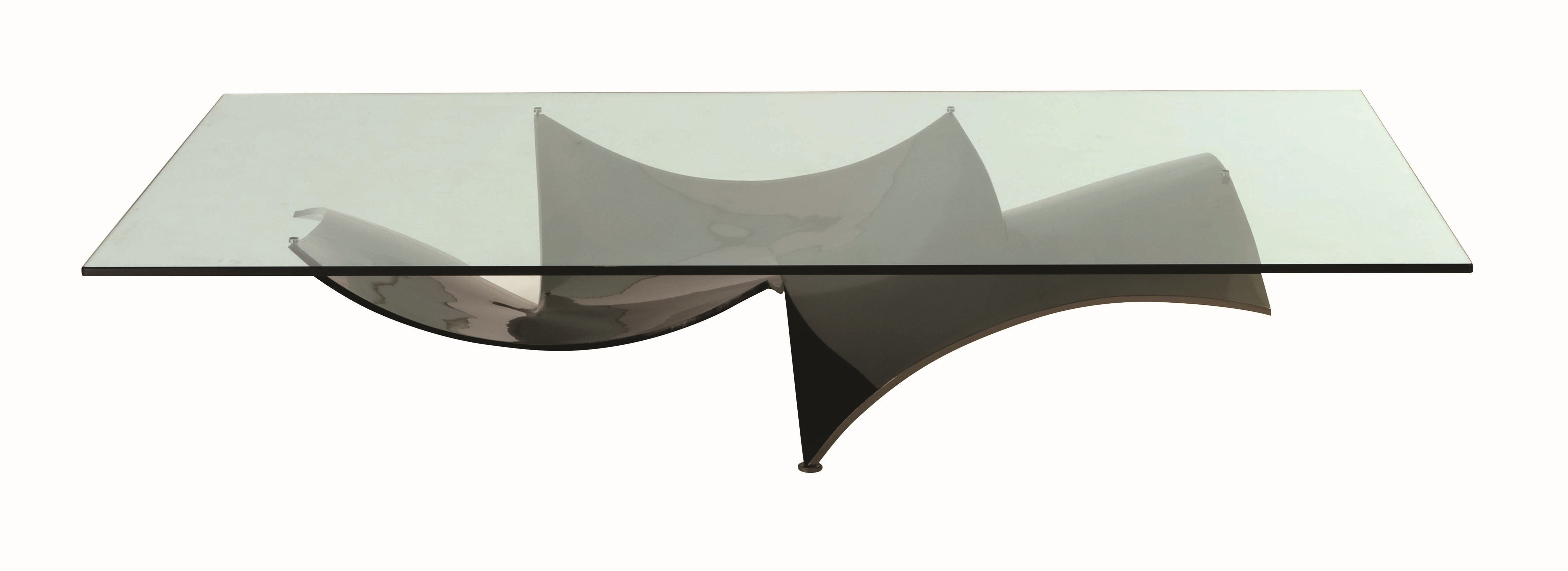 Low Rectangular Coffee Table Voiles Les Contemporains Collection By Roche Bobois Design