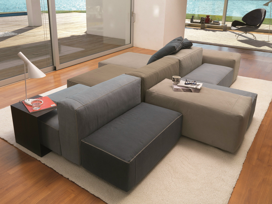 Sectional sofa with removable cover blo us by d sir e for Sofas modulares baratos