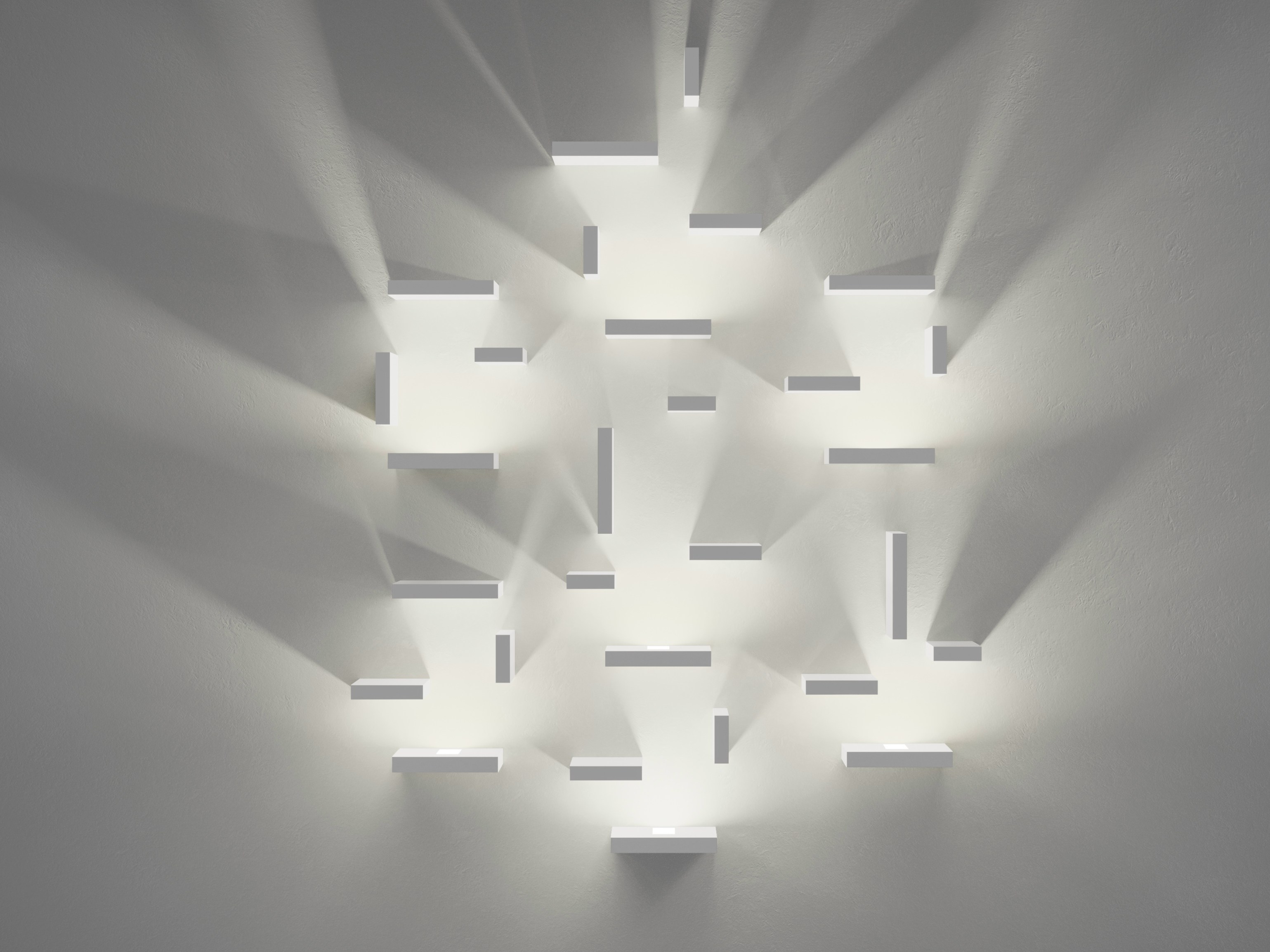 Applique murale set by vibia design josep llu s xucl - Grande applique murale design ...