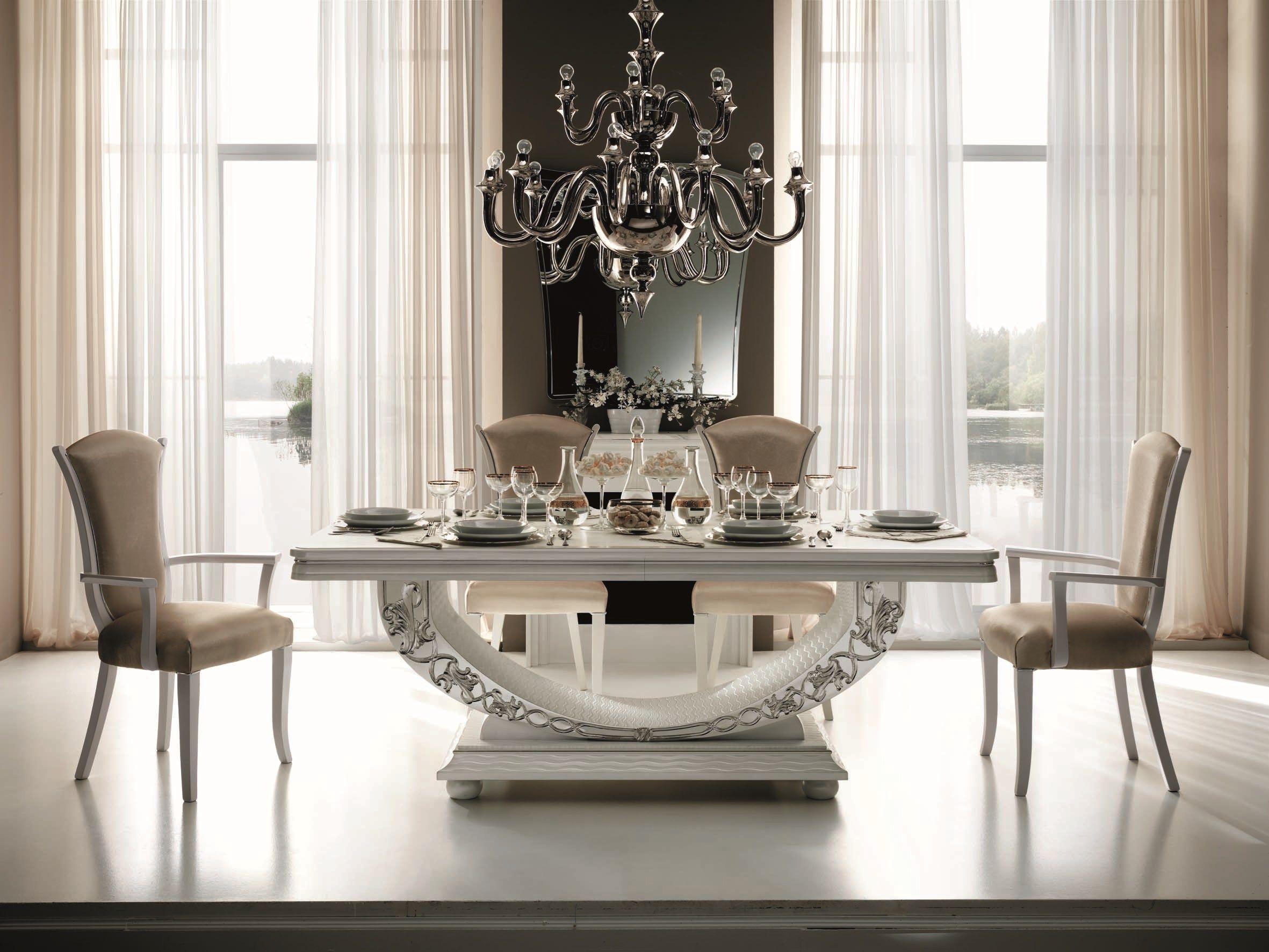 Tavolo Da Pranzo Rettangolare In Stile Classico MIRÒ Tavolo  #796752 2362 1772 Salotti E Sale Da Pranzo Moderne