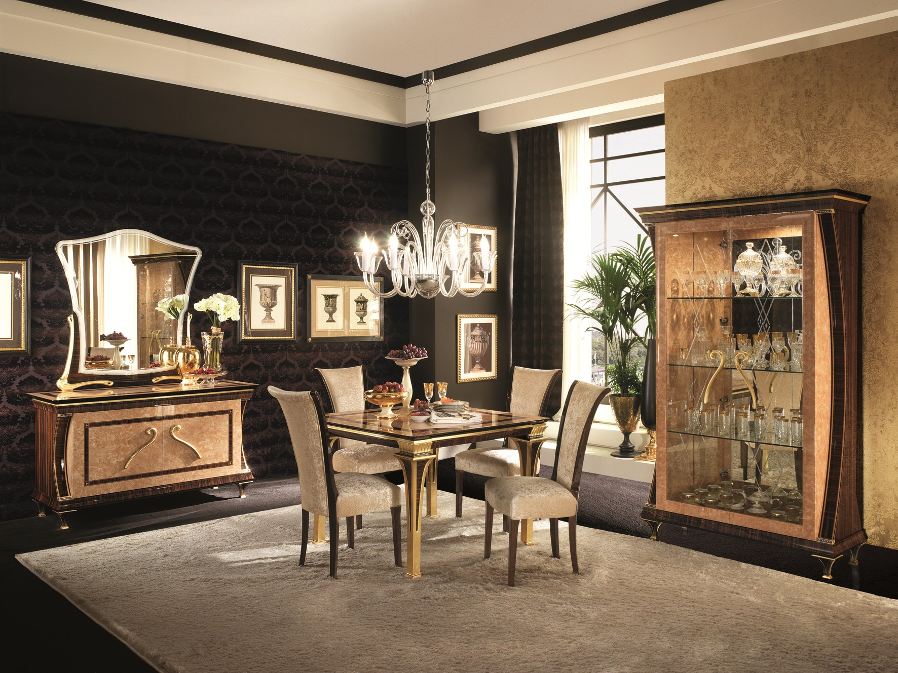 rossini table art d co by arredoclassic. Black Bedroom Furniture Sets. Home Design Ideas