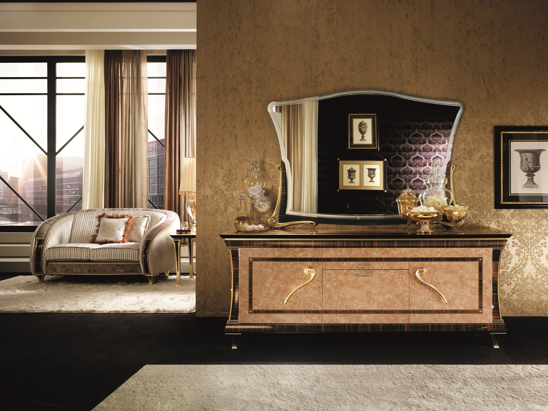 rossini sideboard by arredoclassic. Black Bedroom Furniture Sets. Home Design Ideas