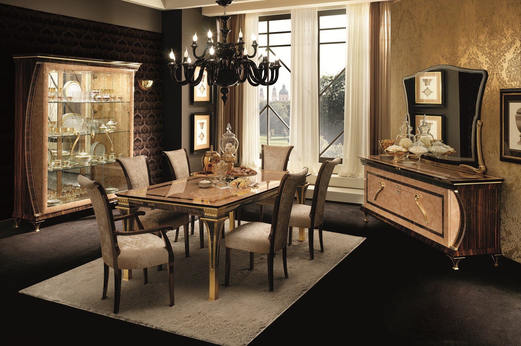 rossini vitrine by arredoclassic. Black Bedroom Furniture Sets. Home Design Ideas