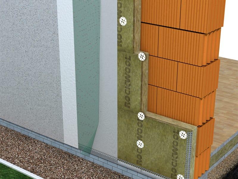 w rmed mmverbundsystem frontrock max e by rockwool italia. Black Bedroom Furniture Sets. Home Design Ideas
