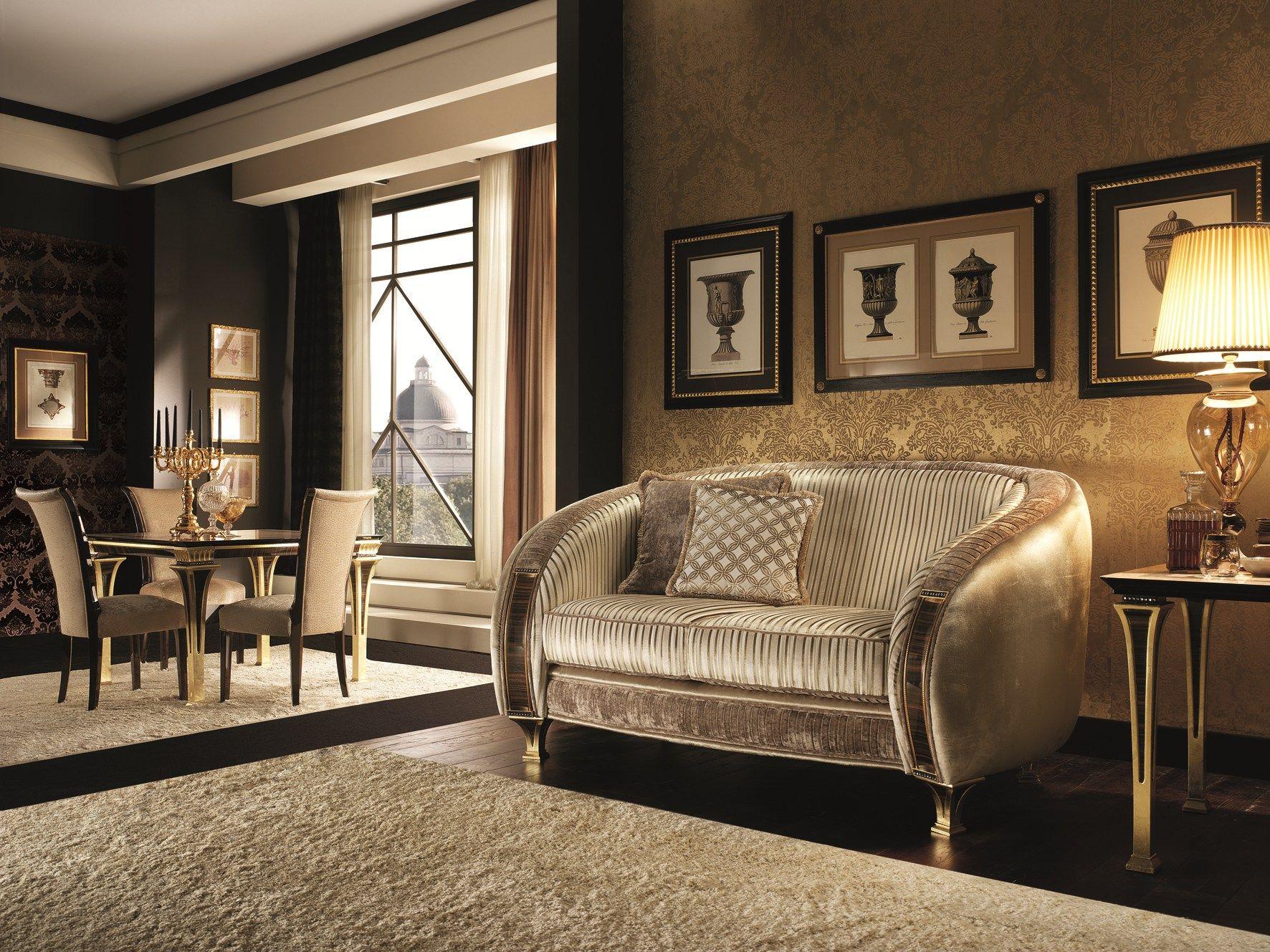 Sof 2 plazas tapizado de estilo art d co colecci n for Decoracion art deco