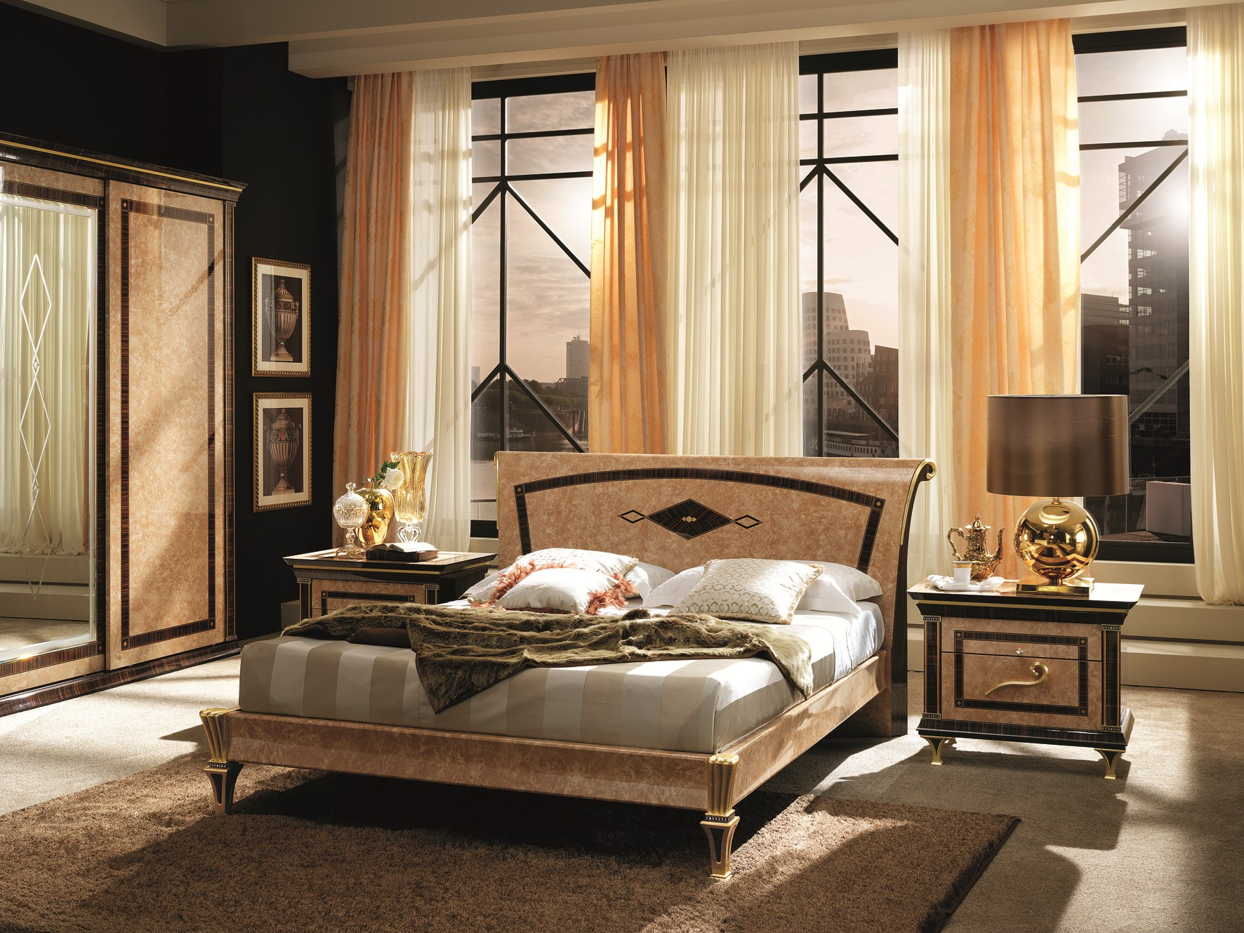 rossini bett by arredoclassic. Black Bedroom Furniture Sets. Home Design Ideas