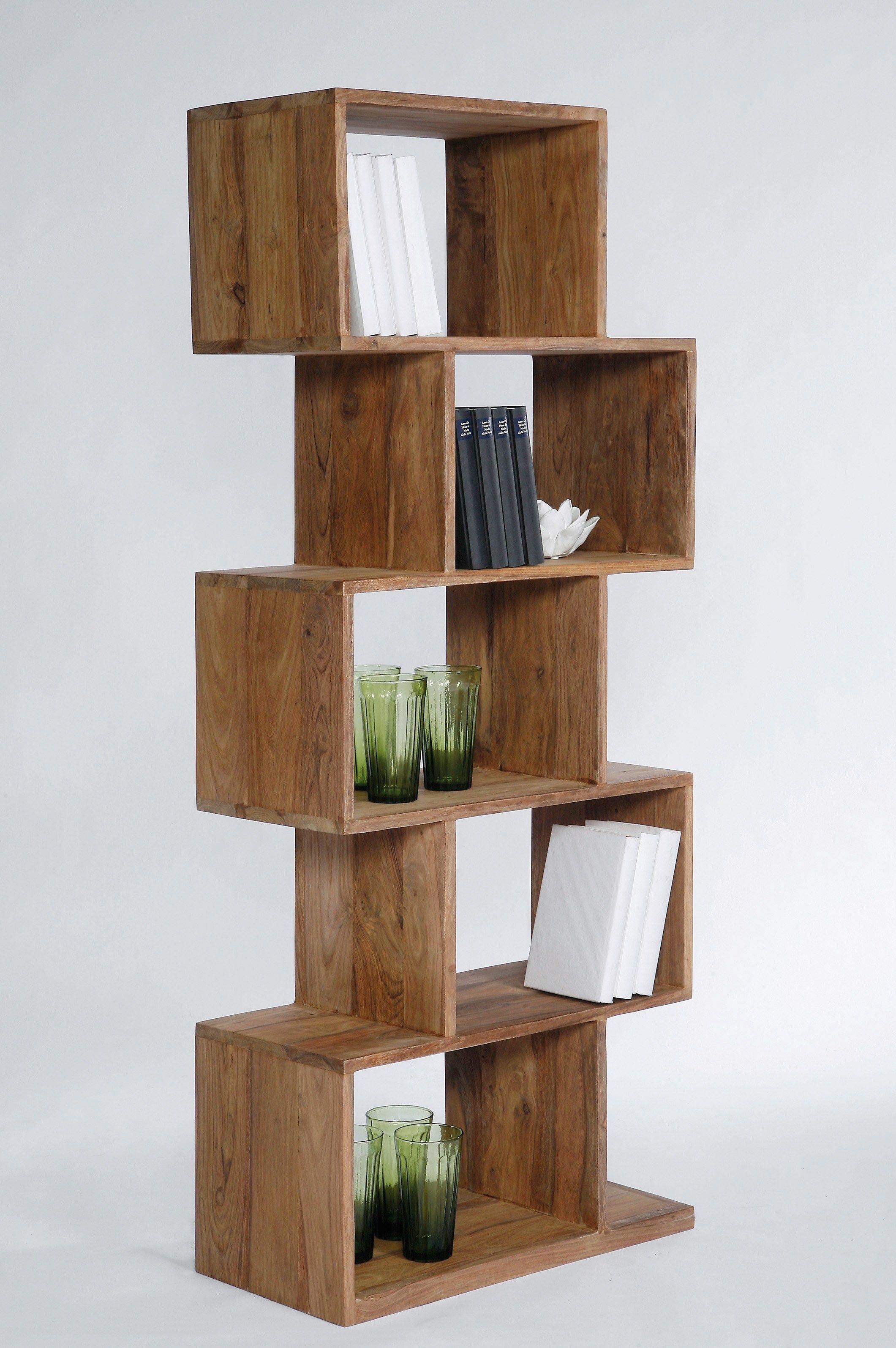 biblioth que sur pied ouverte en bois design authentico by kare design. Black Bedroom Furniture Sets. Home Design Ideas