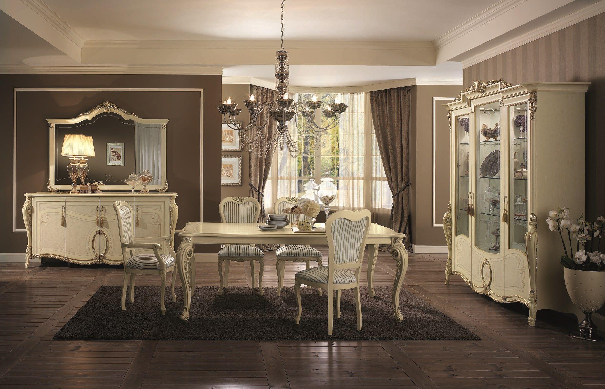 Tavolo Da Salotto Rettangolare In Stile Classico TIZIANO Tavolo  #8C663F 2362 1521 Salotti E Sale Da Pranzo Moderne