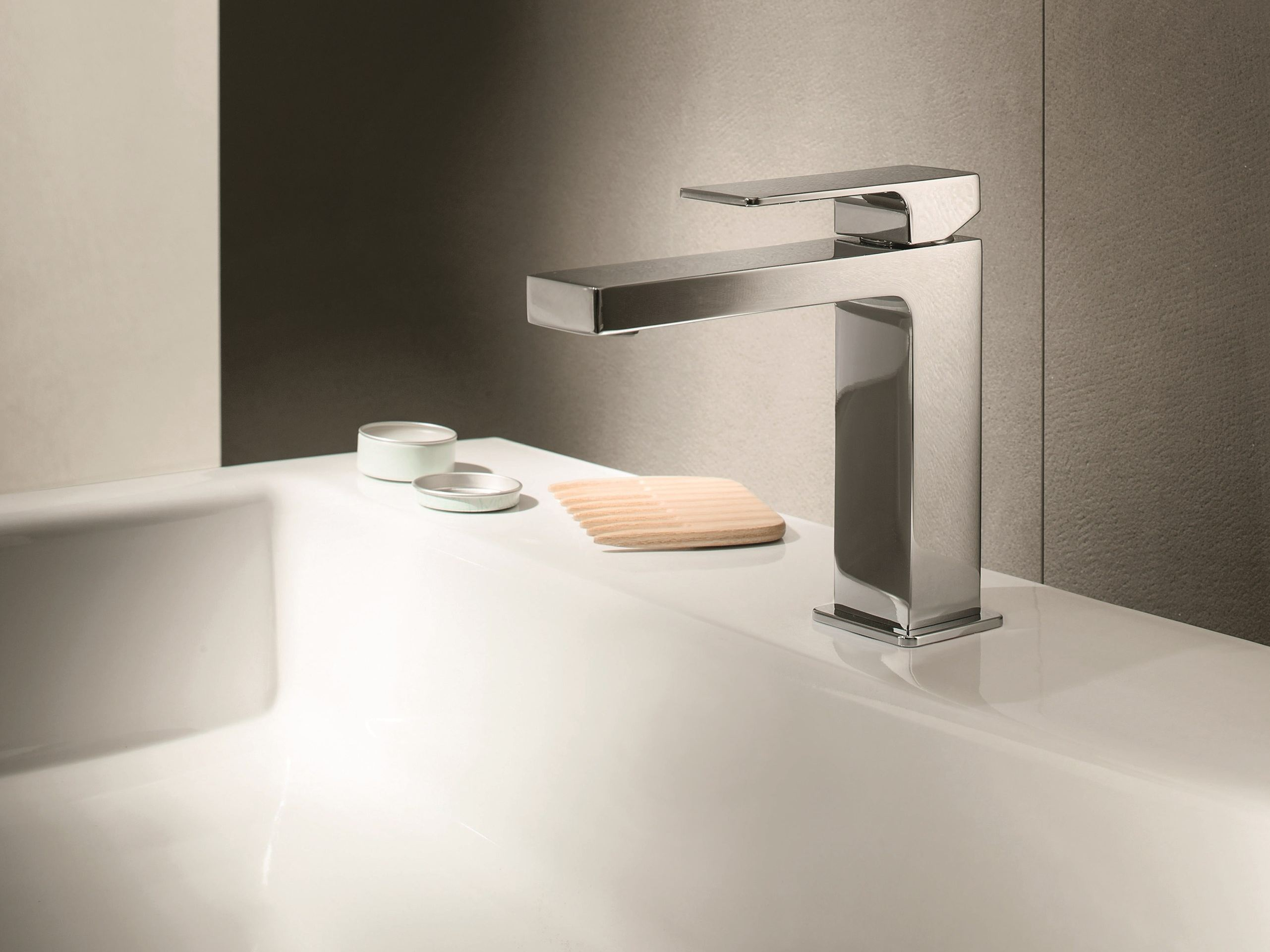 Mint countertop washbasin mixer by fantini rubinetti for Rubinetti design