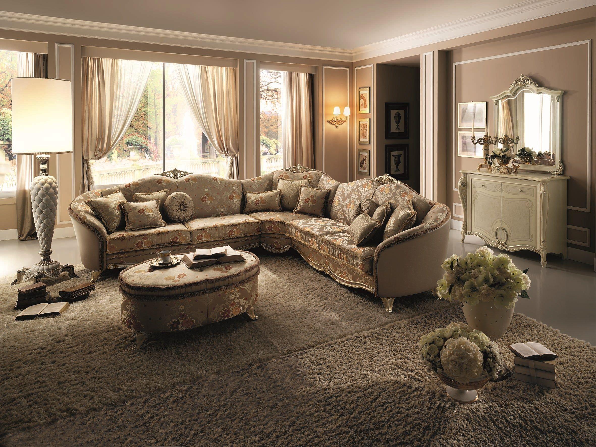 TIZIANO Corner sofa by Arredoclassic