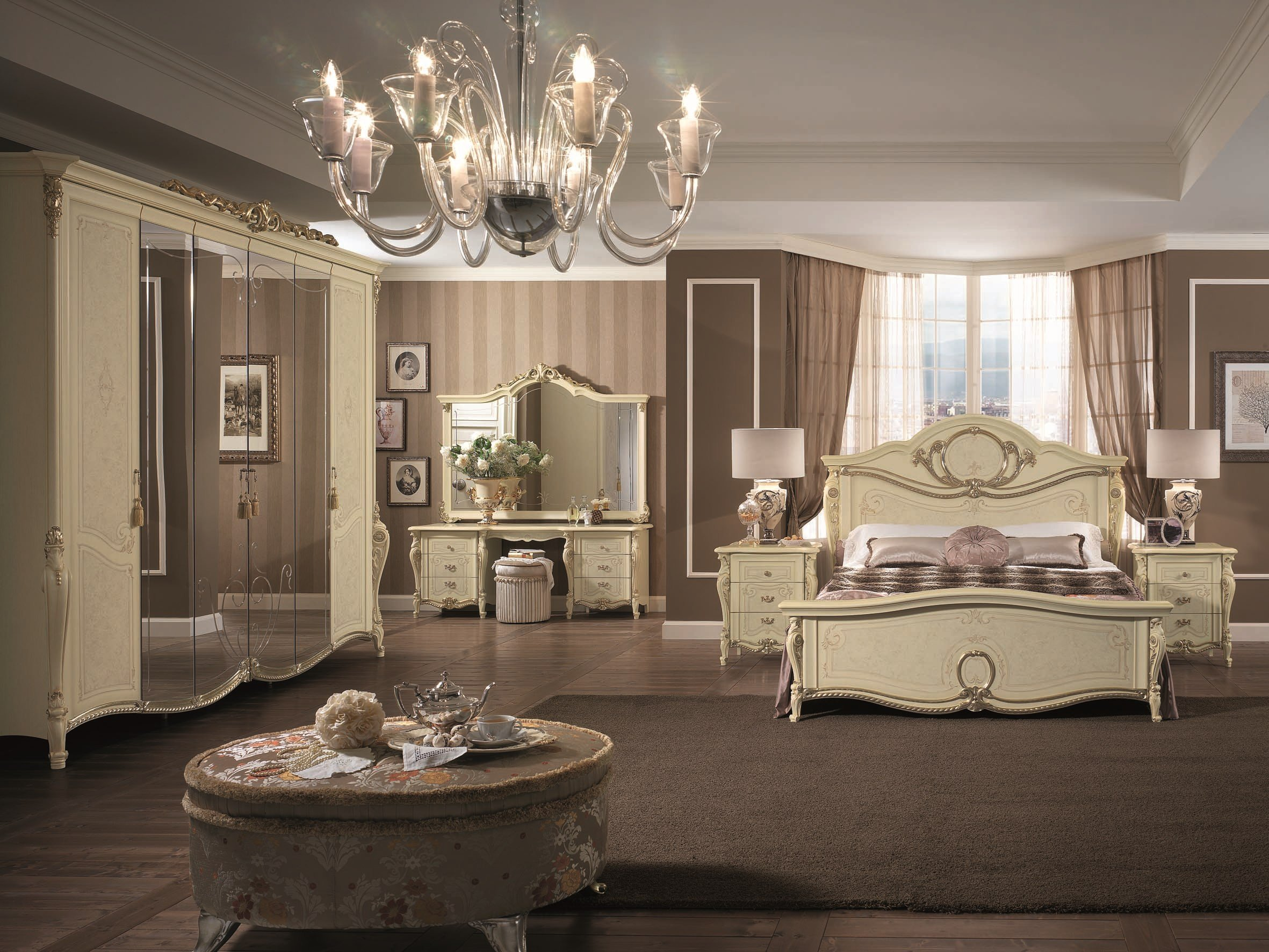 Tiziano bedroom set by arredoclassic for Style romantique deco
