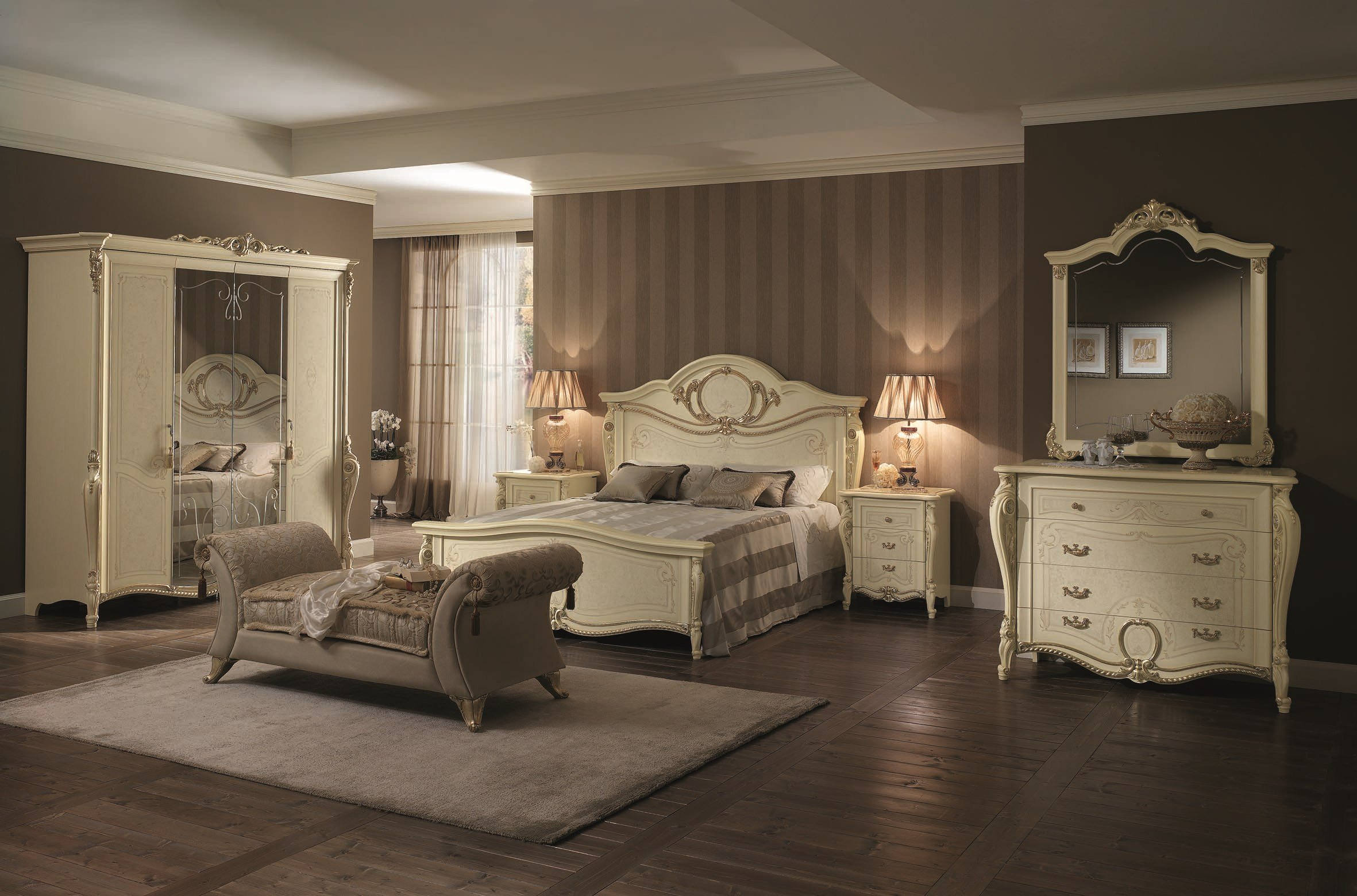 tiziano mobilier de chambre by arredoclassic. Black Bedroom Furniture Sets. Home Design Ideas