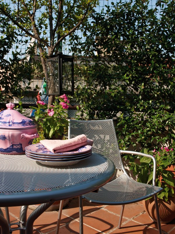 Table De Jardin Ronde Collection Cambi By Emu Group
