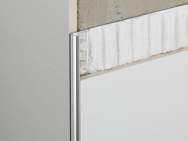 Novocanto profilo paraspigolo in alluminio by emac italia - Paraspigoli per piastrelle ...