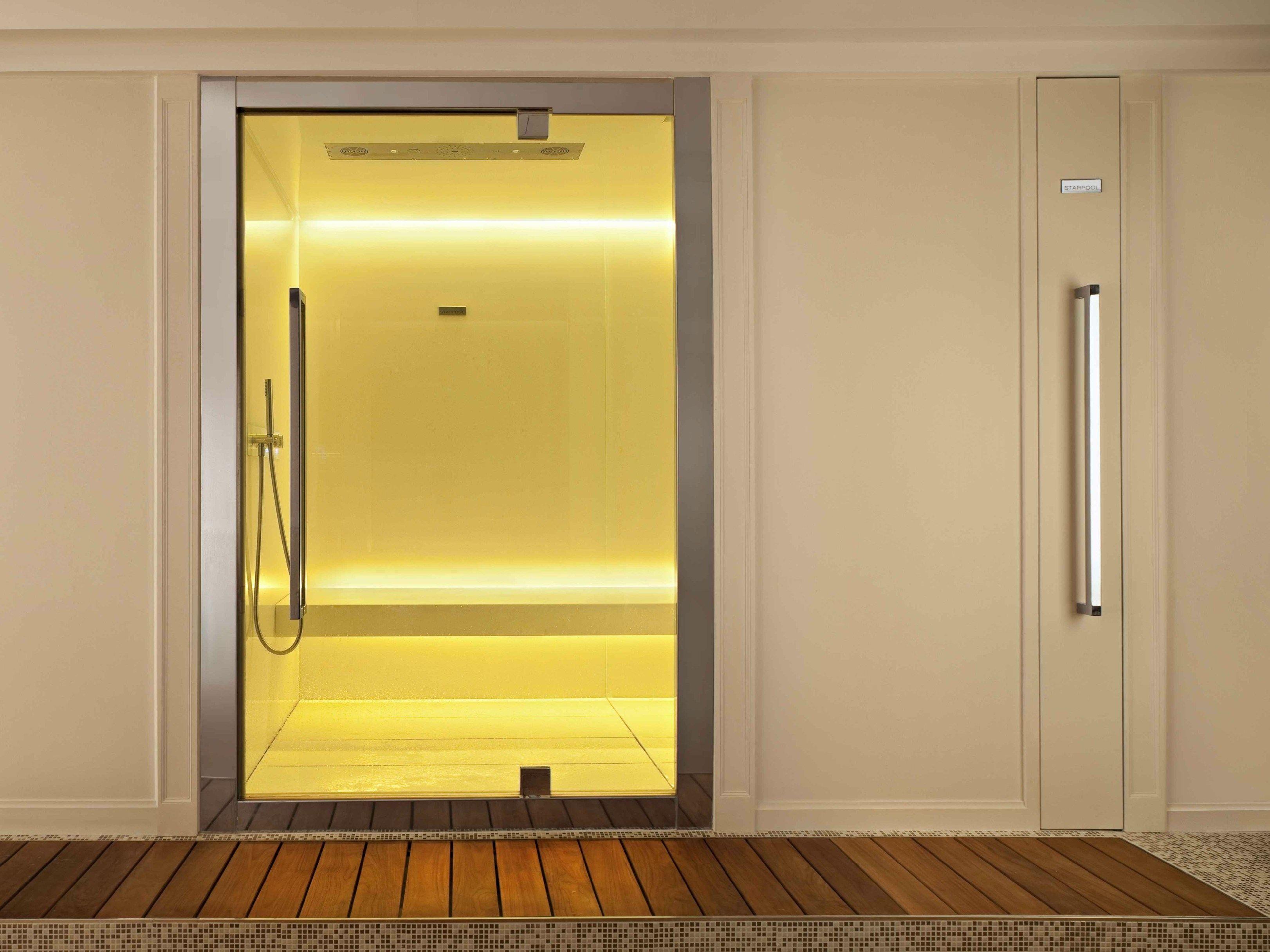 Bagno turco per cromoterapia con doccia sweet spa xl by starpool design cristiano mino - Bagno con doccia ...