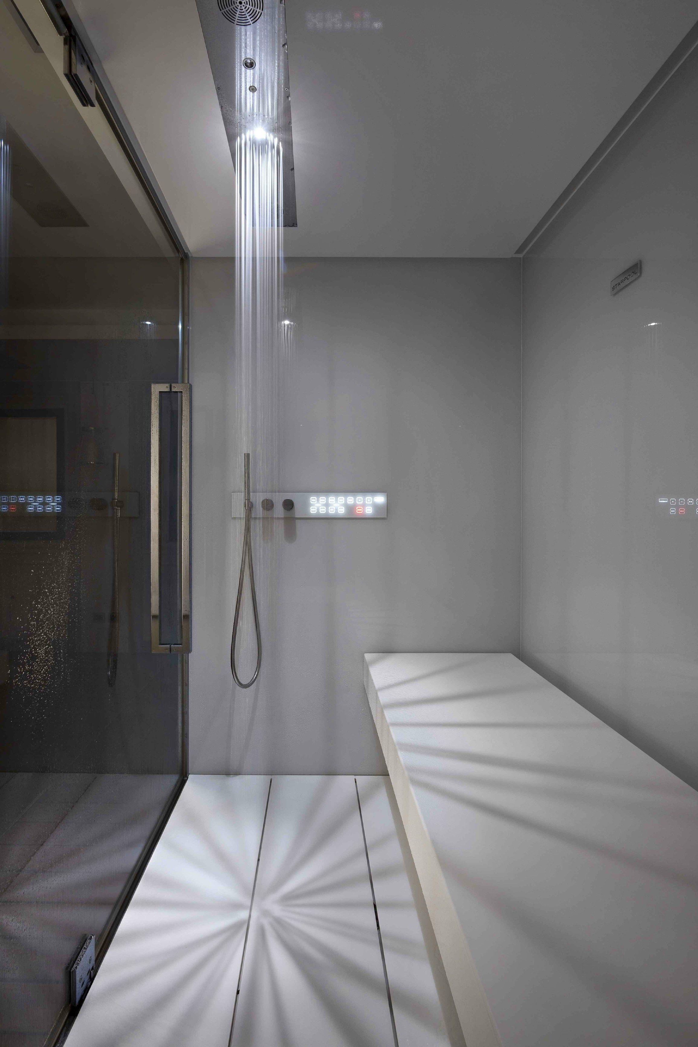 Bagno turco per cromoterapia con doccia SWEET SPA XL by STARPOOL ...