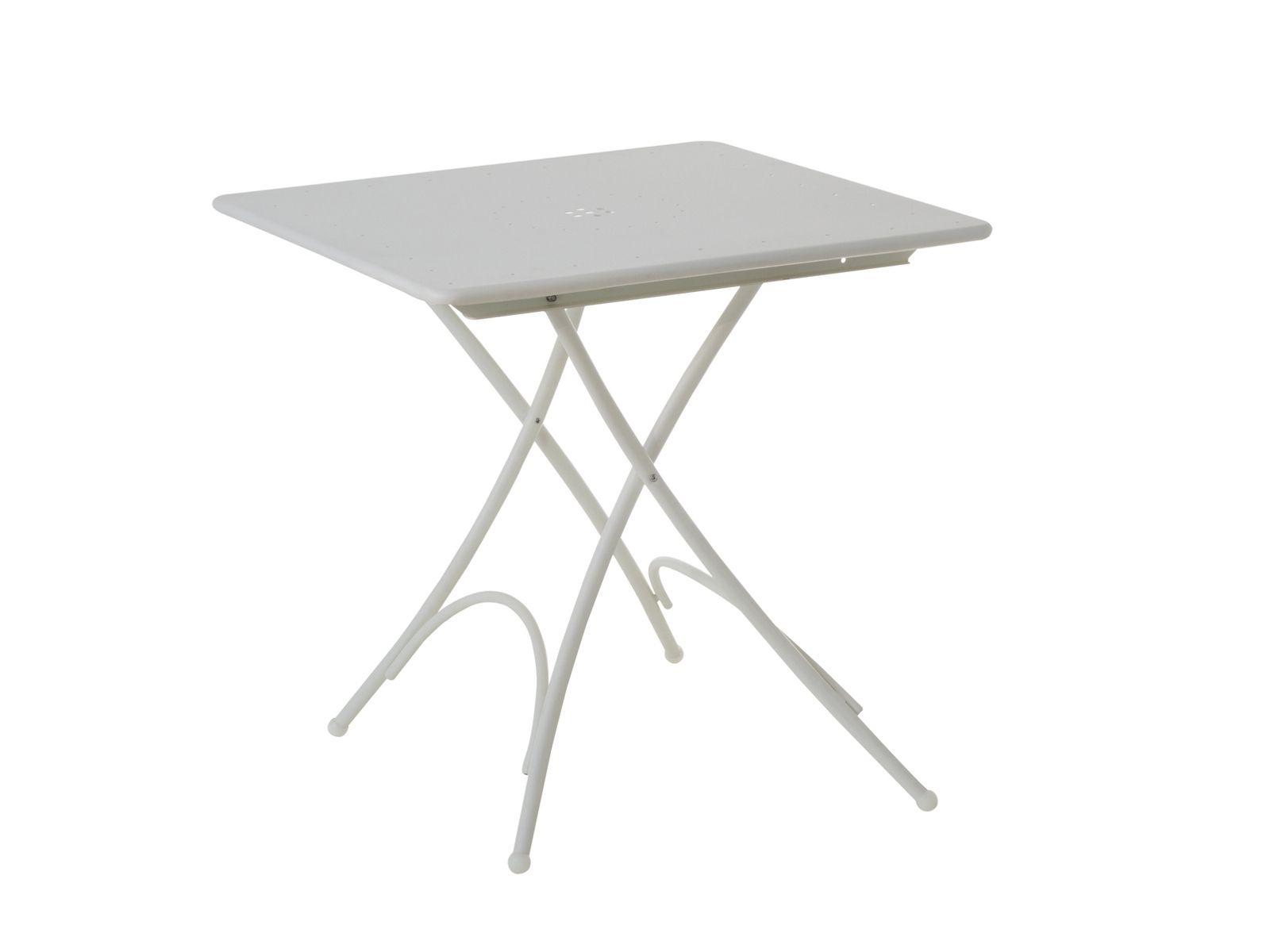 Tavolino da giardino pieghevole quadrato collezione for Emu tavoli da giardino