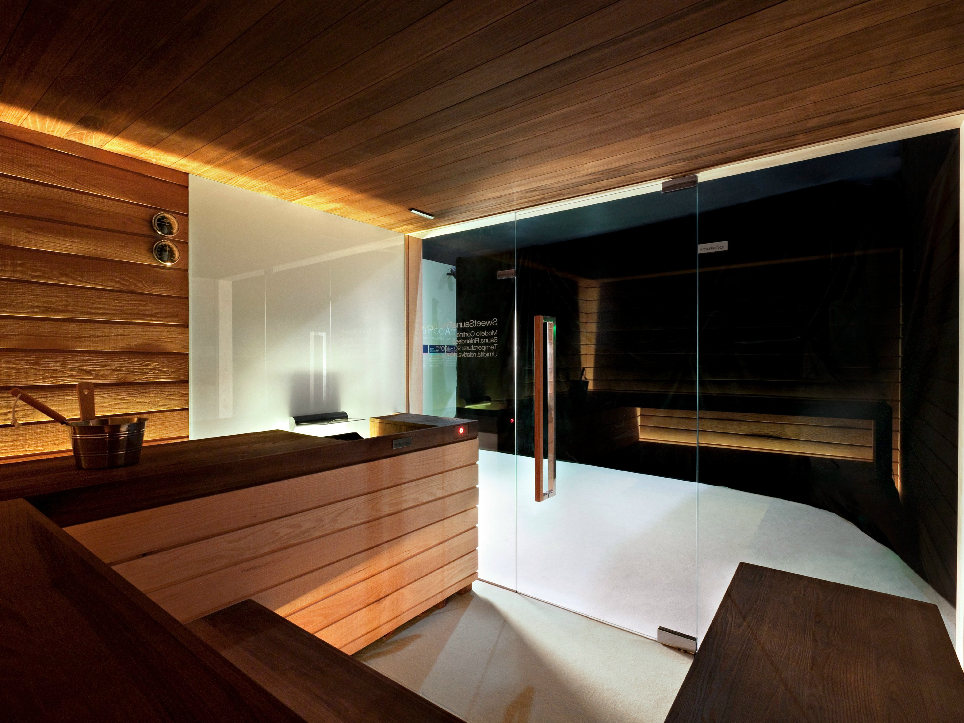 Ducha Con Baño Turco:Turkish Sauna